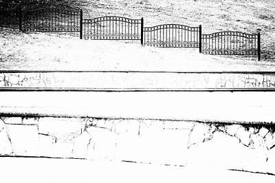 Photograph - Fence #2868 by Andrey Godyaykin
