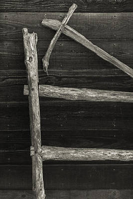 Maryland Photograph - Fence And Wall by Joseph Smith