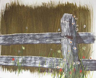 Fence D And S Art Print