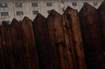 Art Print featuring the photograph Fence by Jez C Self