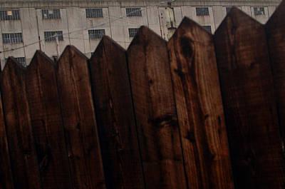 Fence Art Print by Jez C Self