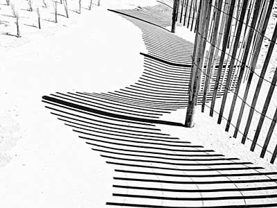 Photograph - Fence Line by Eric Schaeffer