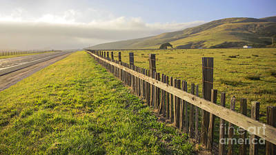 Photograph - Fence by Shishir Sathe