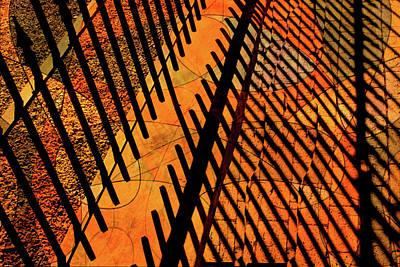 Fenced Framework Art Print by Don Gradner
