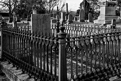 Photograph - Fenced Grave by James L Bartlett