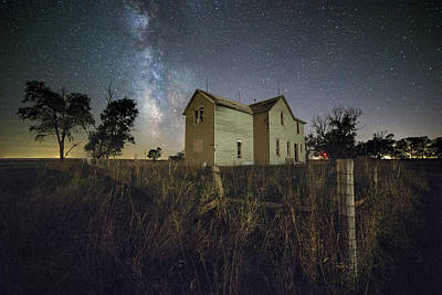 Photograph - Fenced In by Aaron J Groen