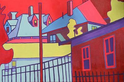 Fenced In  Art Print by Debra Bretton Robinson