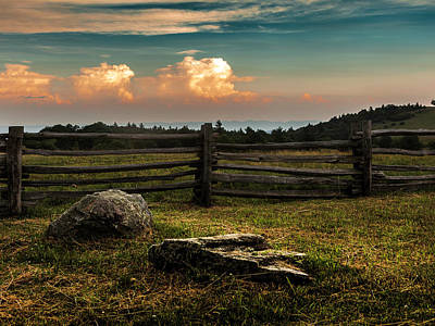 Photograph - Fenced In by Kevin Senter