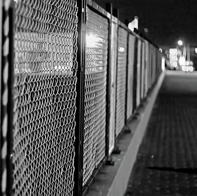 Fenced In Or Fenced Out Art Print