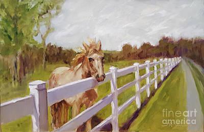 Painting - Fenced In by Shelley Koopmann
