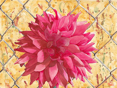 Painting - Fenced by Ken Powers