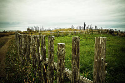 Photograph - Fences In A Stormy Light by Tatiana Travelways