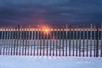 Photograph - Fencing by Patti Raine