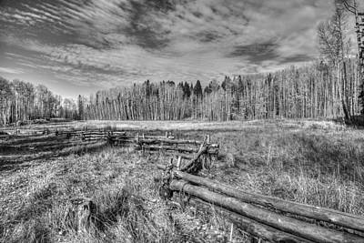 Photograph - Fencing Trails  by Jaquita Watters