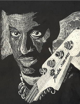 Drawing - Fender by John Brisson