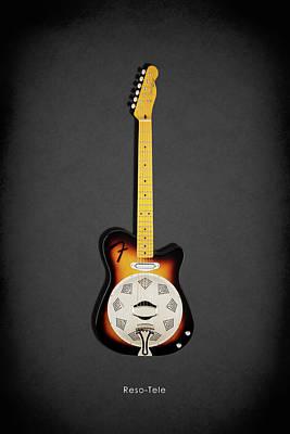 Fender Reso-tele Art Print by Mark Rogan
