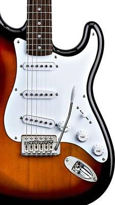 Photograph - Fender Stratocaster Guitar by Andrea Mazzocchetti