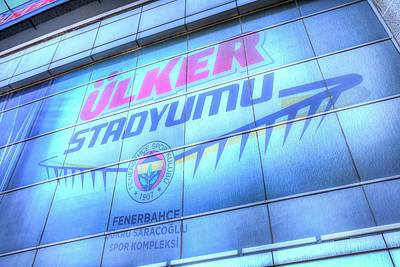 Photograph - Fenerbahce Sk Stadium by David Pyatt