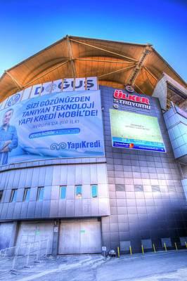 Photograph - Fenerbahce Sk Stadium Istanbul by David Pyatt