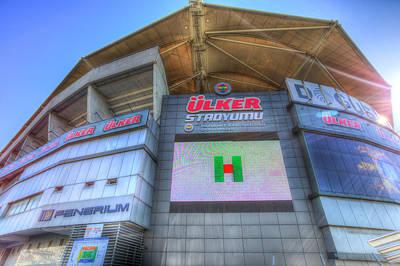 Photograph - Fenerbahce Stadium by David Pyatt