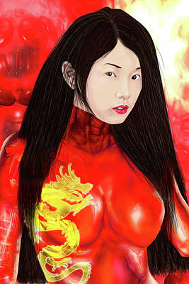 Fenghuang  Original by Claude-Robert Policart