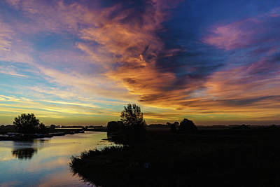 Photograph - Fenland Sunrise by James Billings