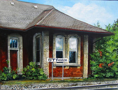 Painting - Fenton Depot by William Brody