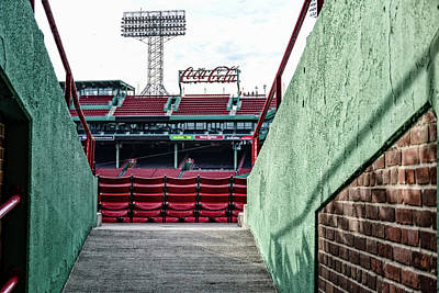 Photograph - Fenway Chairs  by Joseph Caban