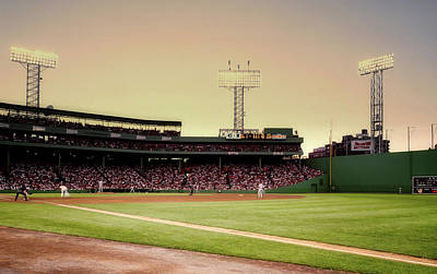 Photograph - Fenway Park 1980s by Mountain Dreams