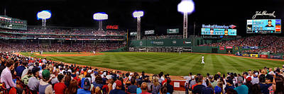 Photograph - Fenway Park Boston 0477 by Jeff Stallard