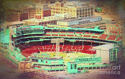 Fenway Park - Boston Icon Art Print