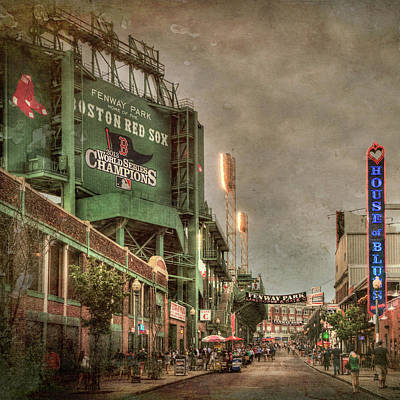 Boston Red Sox Photograph - Fenway Park - Boston Red Sox - Lansdowne St by Joann Vitali