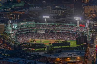 Babes Wall Art - Photograph - Fenway Park by Bryan Xavier