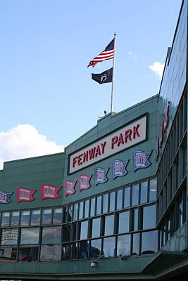 Fenway Park Centennial Art Print by Loud Waterfall Photography Chelsea Sullens