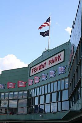 Fenway Park Centennial Art Print