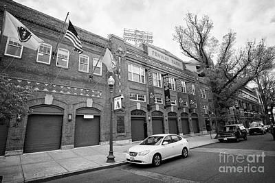 Fenway Park Home Of The Boston Redsox Yawkey Way Usa Art Print