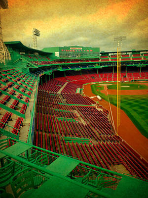 Redsox Photograph - Fenway Park In Color II by Michelle Miller
