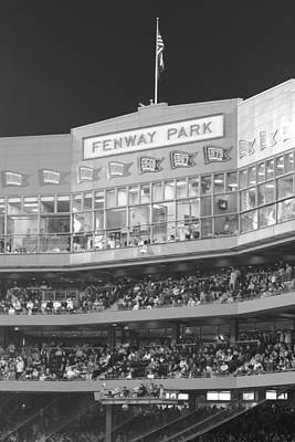 Baseball Royalty-Free and Rights-Managed Images - Fenway Park by Lauri Novak