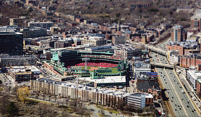 Photograph - Fenway Park by Patrice Bilesimo