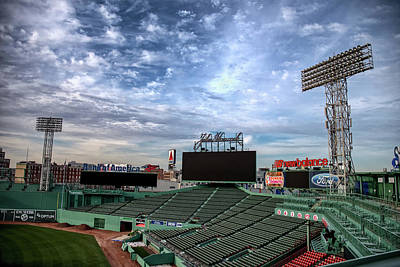 Photograph - Fenway Stands by Joseph Caban