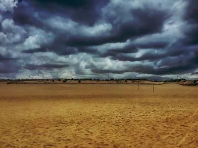 Photograph - Fenwick Dunes by Chris Montcalmo