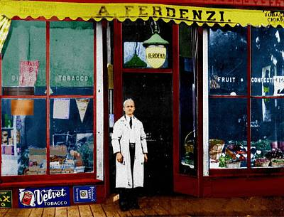Digital Art - Ferdenzi's Market by Cliff Wilson