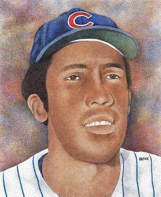 Chicago Cubs Drawing - Fergie Jenkins by Rob Payne