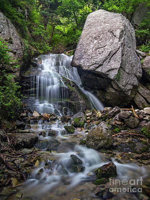 Photograph - Ferguson Falls by Spencer Baugh