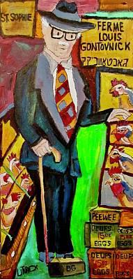 Litvack Painting - Ferme Louis Gontovnick St. Sophie by Michael Litvack
