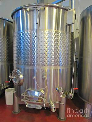 Fermenting Wine Original by Crystal Loppie