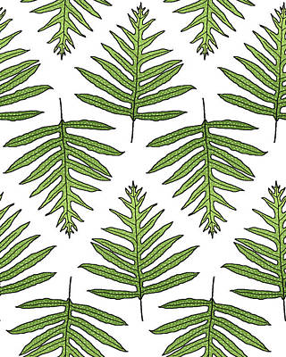 Fern Array Art Print