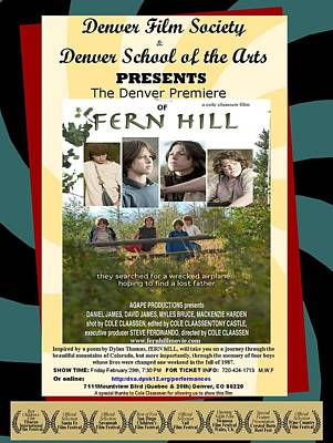 Photograph - Fern Hill Poster by Christopher James