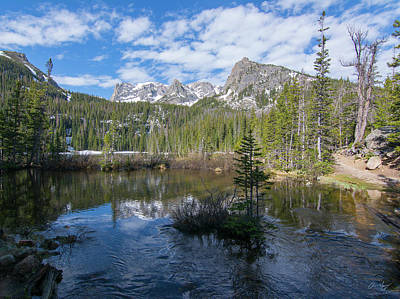 Photograph - Fern Lake by Aaron Spong