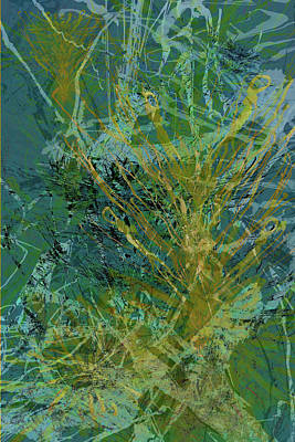 Mixed Media - Fern Series 36 by Kristin Doner